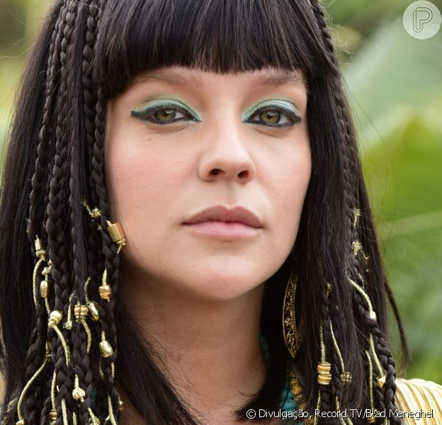 Novela 'Gênesis': Gabi Lopes é a concubina Femi. 'Eram muito valorizadas, eram mulheres fortes', aponta ao Purepeople