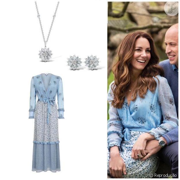 Joias de Kate Middleton tinham motivos florais
