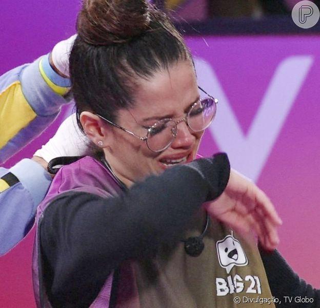 No 'BBB 21', Juliette sofre crise de labirintite e deixa última prova de resistência