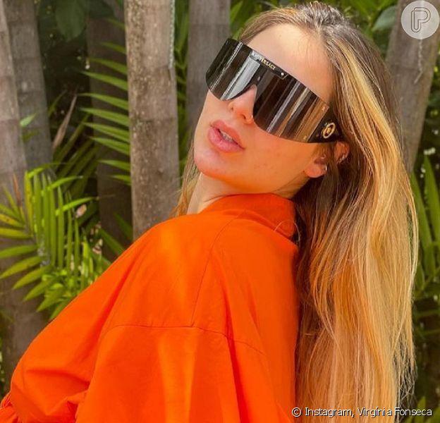 Virgínia Fonseca mostrou a barriga de gravidez na reta final da gestação