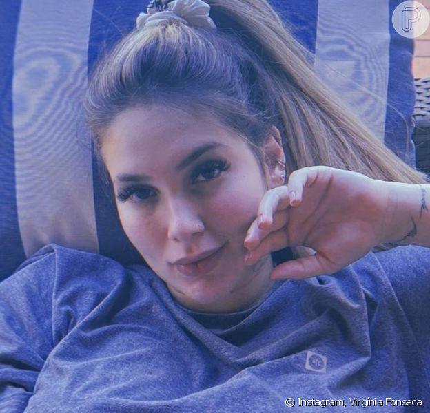 Gravidez de Virgínha Fonseca: influencer faz foto e mostra barriga de 35 semanas