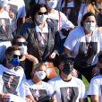 Paulo Gustavo foi homenageado por familiares e amigos após sua cremação