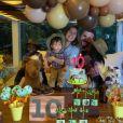 Giovanna Ewbank comemora 10 meses de Zyan ao lado dos filhos, Títi e Bless
