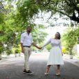 Viviane Araújo está casada! Atriz trocou alianças com Guilherme Militão