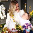 Filha de Ana Paula Siebert e Roberto Justus, Vicky faz 1 ano em 17 de maio de 2021
