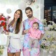 Filha caçula de Romana Novais e Alok, Raika veio ao mundo com 8 meses de gestação