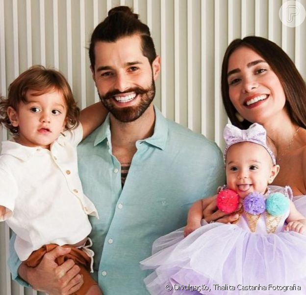Romana Novais mostrou novas fotos de sua filha com Alok, no mesversário de 6 meses da menina