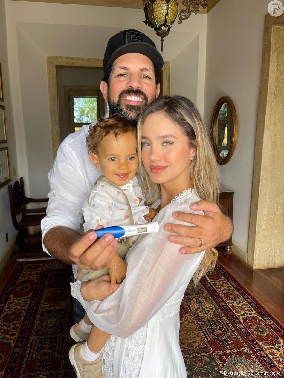 Biah Rodrigues acha que será mãe de outro menino: 'Companheirinho para o Théo'