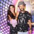 Kayky Brito será pai pela primeira vez: ele e a namorada, Tamara Delcanale, contaram a novidade na web