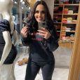 Perlla ganhou elogios em nova foto com o namorado, o empresário Patrick Abrahão: 'Lindos'