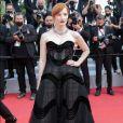 Jessica Chastain poderosa no red carpet do Festival de Cannes