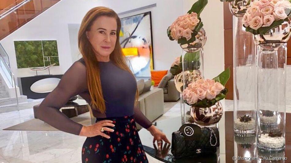 Zilu Camargo declarou: '  Há anos suporto tudo sem comentar nada'