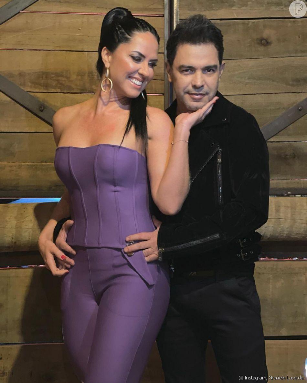 Graciele Lacerda e Zezé Di Camargo estão noivos