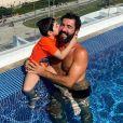 Jéssica Costa e  Sandro Pedroso,   pais de Noah, se separaram em fevereiro de 2020