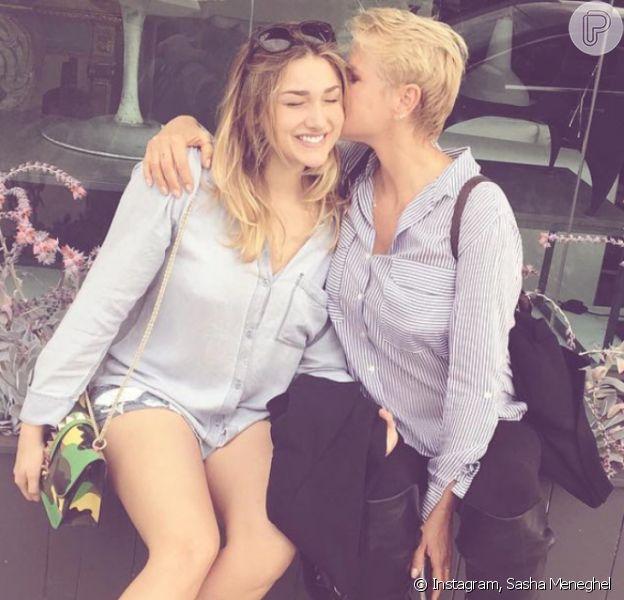 Xuxa e mais famosos se comovem com post de Sasha para Luciano Szafir, internado na UTI