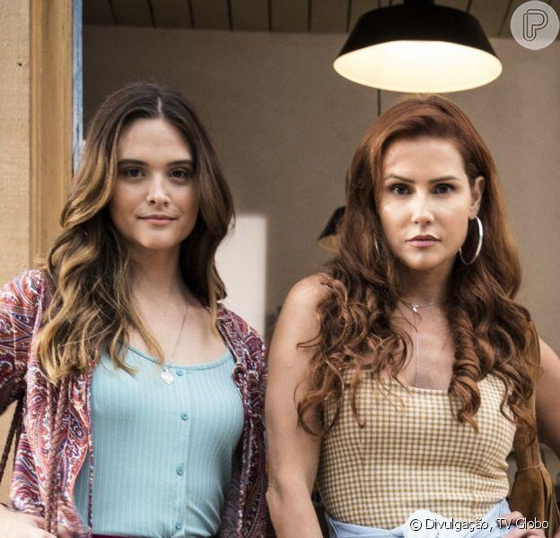 Último capítulo da novela 'Salve-se Quem Puder': casamento de Alexia (Deborah Secco) e escolhas de Luna (Juliana Paiva) e Kyra (Vitória Strada)
