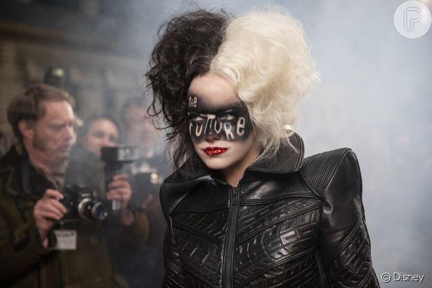 Emma Stone participou de processo criativo de looks de 'Cruella'