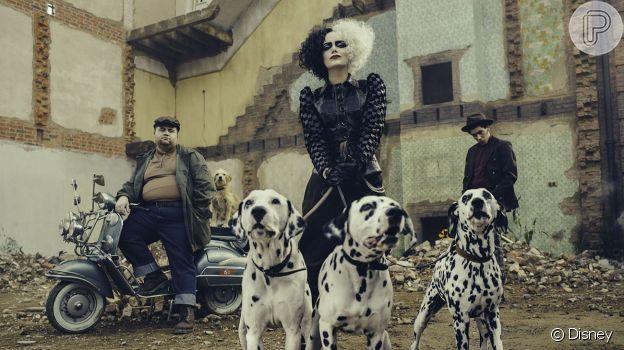 Em 'Cruella', Emma Stone se destaca como protagonista cheia de estilo