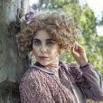 Novela 'Nos Tempos do Imperador': mulher de  João Batista ( Ernani Moraes),  Carlota Maria ( Paula Cohen) sonha com um título de nobreza