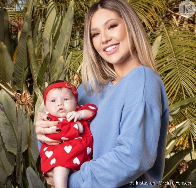 Virgínia Fonseca revela mudança em festa da filha por internação do pai