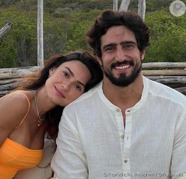 Thaila Ayala e Renato Goés anunciam gravidez: 'Francisco'