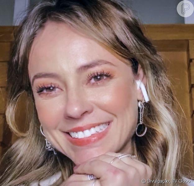 Paolla Oliveira foi fotografada com namorado, Diogo Nogueira, em Angra dos Reis