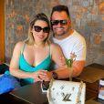 Naiara Azevedo e Rafael Cabral  estavam passando uma crise desde o início de julho