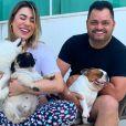 Naiara Azevedo terminou o casamento com o empresário Rafael Cabral