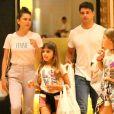Mariana Goldfarb tem boa relação com a filha de Cauã Reymond, Sofia, de 9 anos