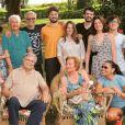 Glória Menezes e Tarcísio Meira surgiram em foto com a família em postagem de Mocita Fagundes