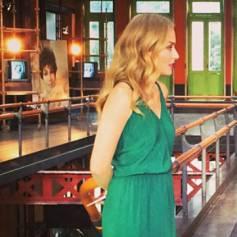 Vestido longo verde ateen