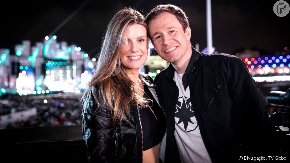 Daiana Garbin, mulher de Tiago Leifert foi ao Instagram comentar saída do amado da Globo ao interagir e agradecer carinho da web