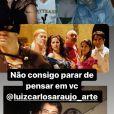 Luiz Carlos Araújo e Camilla Camargo atuaram juntos em diversas produções, incluindo a novela 'Carinha de Anjo', do SBT