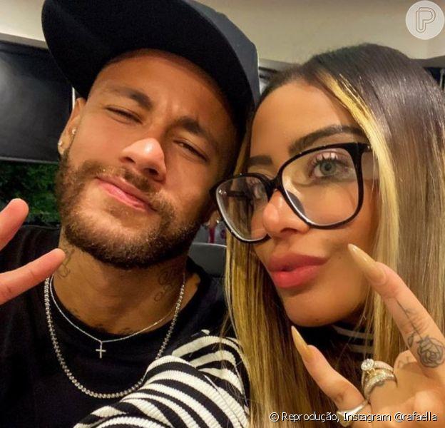 Rafaella Santos defendeu o irmão, Neymar, após o jogador ser criticado por Patricia Pillar
