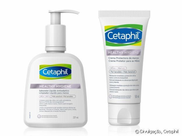 Lançamentos da Cetaphil em linha de cuidados com a mão