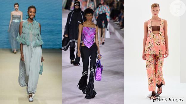 A calça do verão 2022 tem modelagem mais confortável