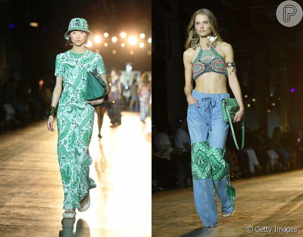 Estampa paisley: tendência de moda para 2022