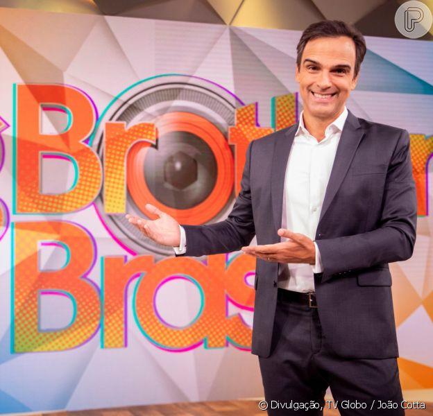 Tadeu Schmidt é o novo apresentador do 'BBB22', em 10 de outubro de 2021