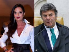 Luiza Brunet e Luiz Fux juntos? Colunista dá pista e web avalia nomes: 'Babado forte'