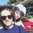 Laura Neiva e Chay Suede estão namorando há dois meses