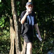 Ney Latorraca volta a caminhar na Lagoa Rodrigo de Freitas: 'Foi minha estreia'
