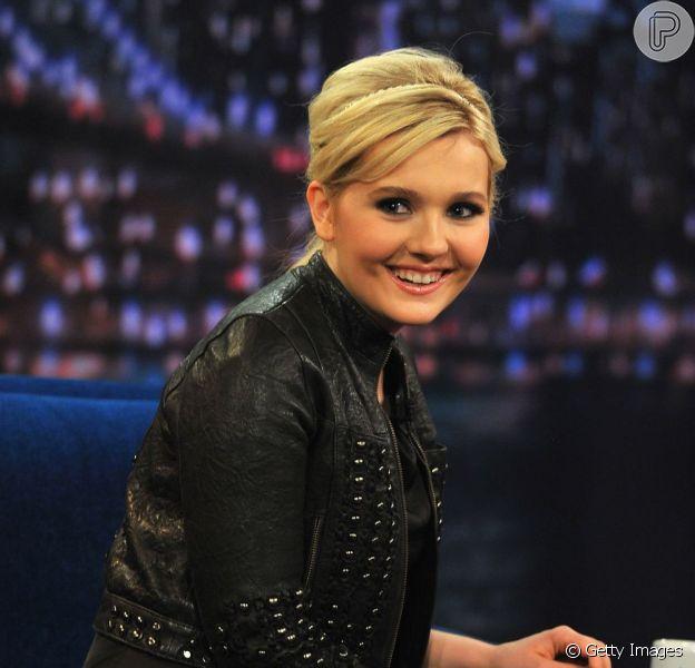 Abigail ainda é lembrada pela sua personagem em 'Pequena Miss Sunshine', em 13 de março de 2013