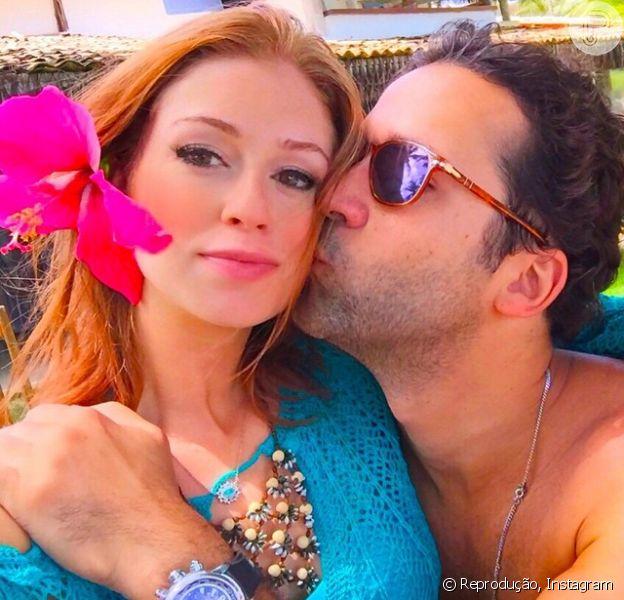 Marina Ruy Barbosa se separou de Klebber Toledo após três anos juntos e não demorou muito para assumir uma nova relação, com o empresário Caio Nabuco, 14 anos mais velho que a atriz