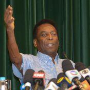 Pelé recebe alta após 15 dias internado e brinca: 'Preparado para a Olimpíada'