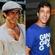 Leonardo Brício era Enrico Mezenga em 'O Rei do Gado', aos 33 anos. Ele está longe da TV desde 2012, quando atuou em 'Rei Davi', na Record. O ator seria protagonista da novela 'Dez Mandamentos', mas não renovou contrato e dexou a emissora