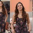 O macacão floral usado por Luiza (Bruna Marquezine) entrou para a lista dos mais pedidos pelo público na central de atendimento da TV Globo