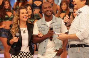 Thiaguinho diz ao lado de Fernanda Souza: 'Mulher tem que ter coisa pra pegar'