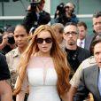 Lindsay Lohan participará de um coquetel em uma loja da grife John John