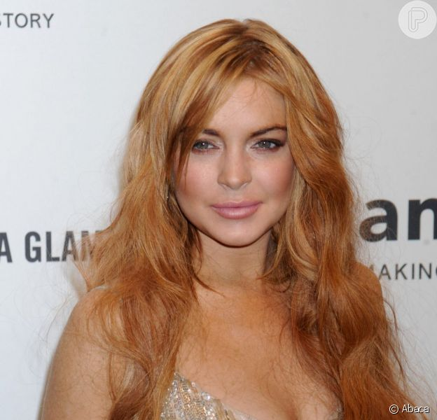 Lindsay Lohan chega ao Brasil para divulgar uma marca de roupas nesta quinta-feira, 28 de março de 2013