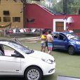 Do lado de fora da casa do 'BBB15', participantes comentam vitória de Mariza na primeira Prova do Líder do reality show